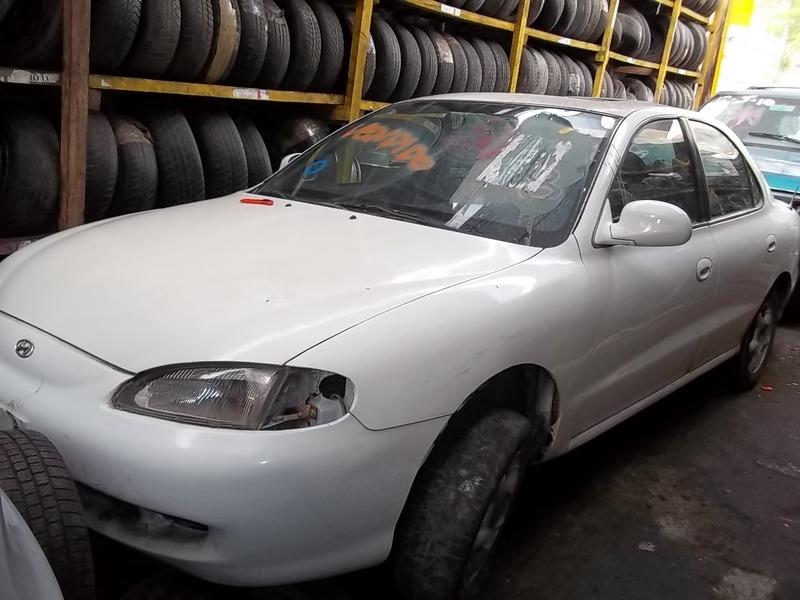 on 1996 Hyundai Elantra