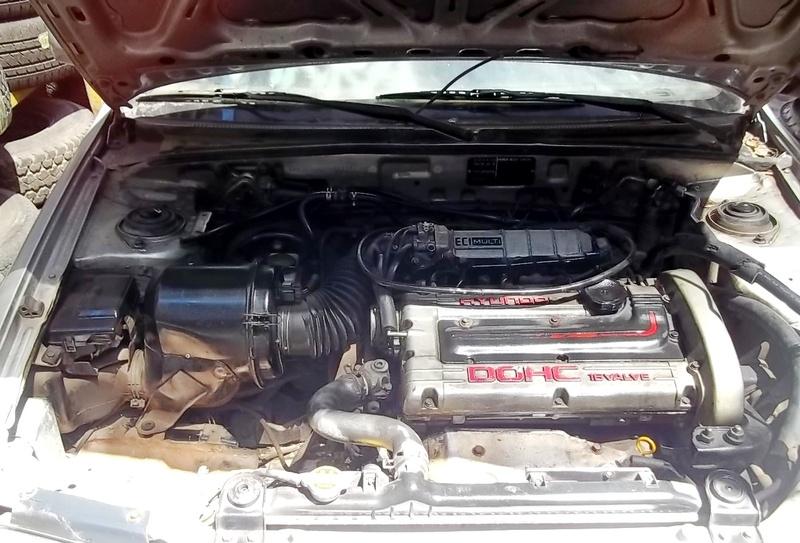 on 1985 Hyundai Elantra