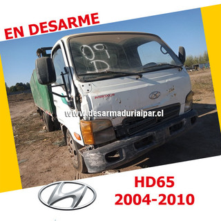 HYUNDAI HD65 3.3 D4AL SOHC 8 VALV 4X2 DIESEL 2004 2005 2006 2007 2008 2009 2010 en Desarme