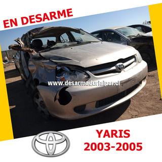 TOYOTA YARIS 1.5 1NZ DOHC 16 VALV 4X2 2003 2004 2005 en Desarme