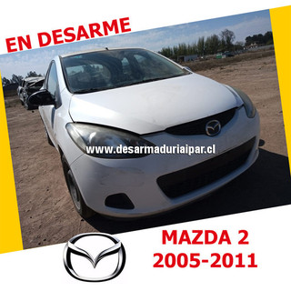 MAZDA 2 1.5 ZY DOHC 16 VALV 4X2 2005 2006 2007 2008 2009 2010 2011 en Desarme