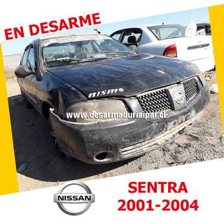 NISSAN SENTRA 1.8 QG18 DOHC 16 VALV 4X2 2001 2002 2003 2004 en Desarme