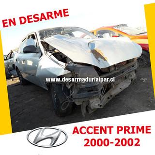 HYUNDAI ACCENT PRIME 1.5 G4EB SOHC 12 VALV 4X2 2000 2001 2002 en Desarme