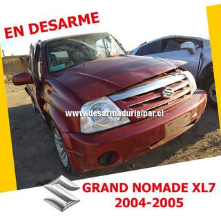 SUZUKI GRAND NOMADE XL7 2.7 H27A DOHC 4X4 2004 2005 en Desarme