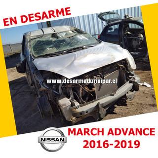 NISSAN MARCH ADVANCE 1.6 HR16 DOHC 16 VALV 4X2 2016 2017 2018 2019 en Desarme