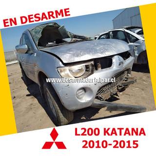 MITSUBISHI L200 KATANA 2.5 4D56T DOHC 16 VALV 4X4 DIESEL 2010 2011 2012 2013 2014 2015 en Desarme