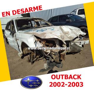 SUBARU OUTBACK 2.5 EJ25 DOHC 16 VALV 4X4 2002 2003 en Desarme