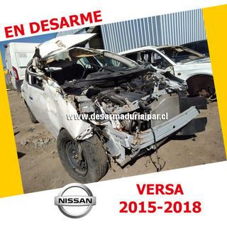 NISSAN VERSA 1.6 HR16 DOHC 16 VALV 4X2 2015 2016 2017 2018 en Desarme