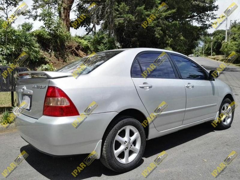 Optico Izquierdo Toyota Corolla 2002 2003   Desarmaduria IPAR
