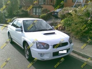 Frontal Lata Subaru Impreza 2003 2004 2005