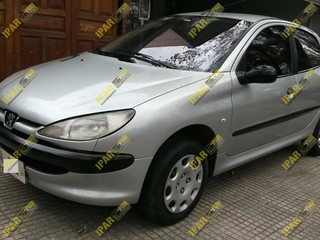 Portalon Lata Peugeot 206 1998 1999 2000 2001 2002 2003 2004 2005 2006 2007 2008 2009 2010 2011 2012