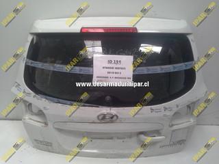 Portalon Con Vidrio Hyundai Santafe 2006 2007 2008 2009 2010 2011 2012