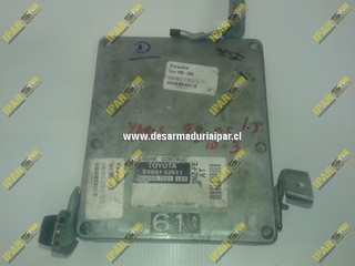 Computador De Motor 1NZ FE AT 89661 52611 211000 7521 Toyota Yaris 1998 1999 2000 2001 2002 2003 2004 2005