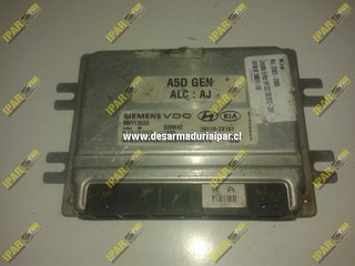 Computador De Motor 5WY1352E 1839 39110 2X161 Kia Rio 2003 2004 2005
