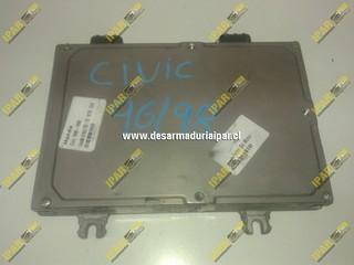 Computador De Motor 37820 P2E K01 905 201443 Honda Civic 1996 1997 1998