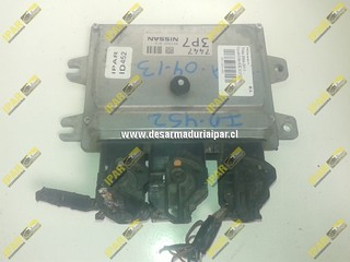 Computador De Motor 4X2 MC 7447 3P7 NEC 000-816 Nissan Tiida 2004 2005 2006 2007 2008 2009 2010 2011 2012 2013