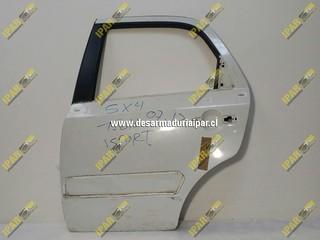 Puerta Trasera Izquierda Stw o Sport*** Suzuki SX4 2007 2008 2009 2010 2011 2012 2013 2014 2015