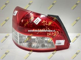 Foco Trasero Izquierdo Sedan Toyota Yaris 2006 2007 2008 2009 2010 2011 2012 2013