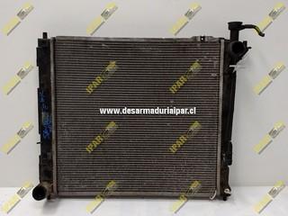 Radiador De Agua Diesel Mecanico Hyundai Santafe 2006 2007 2008 2009 2010 2011 2012