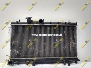 Radiador De Agua Automatico Subaru Legacy 2000 2001 2002 2003
