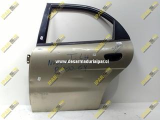 Puerta Trasera Izquierda Sedan*** Daewoo Nubira 1996 1997 1998 1999 2000 2001 2002 2003 2004