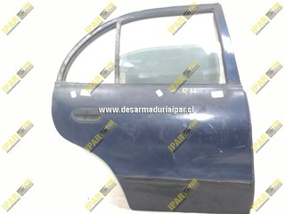 Puerta Trasera Derecha Sedan*** Hyundai Accent 1998 1999 2000
