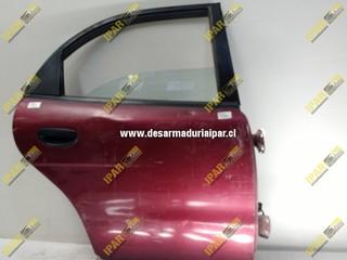 Puerta Trasera Derecha Sedan*** Daewoo Nubira 1996 1997 1998 1999 2000 2001 2002 2003 2004