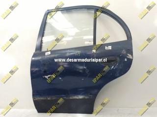 Puerta Trasera Izquierda Sedan*** Hyundai Accent 1998 1999 2000