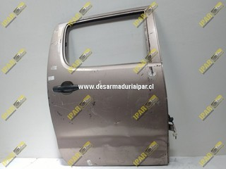 Puerta Trasera Derecha Sedan*** Toyota Hilux 2007 2008 2009 2010 2011 2012 2013 2014 2015