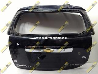 Portalon Lata Chevrolet Captiva 2007 2008 2009 2010 2011 2012 2013 2014 2015 2016