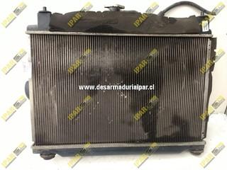 Radiador De Agua Mecanico Mazda 2 2005 2006 2007 2008 2009 2010 2011 2012 2013 2014 2015