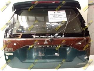 Portalon Con Vidrio Mitsubishi Montero Sport 1998 1999 2000 2001 2002 2003 2004 2005 2006 2007 2008
