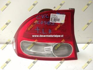 Foco Trasero Izquierdo Sedan Honda Civic 2007 2008 2009 2010 2011