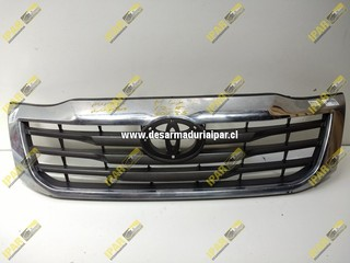 Mascara Con Bisel Cromado Toyota Hilux 2012 2013 2014 2015