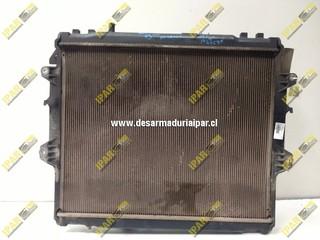 Radiador De Agua Mecanico Toyota Hilux 2007 2008 2009 2010 2011 2012 2013 2014 2015
