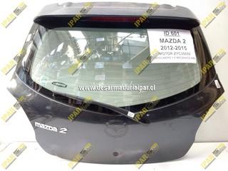 Portalon Con Vidrio Mazda 2 2005 2006 2007 2008 2009 2010 2011 2012 2013 2014 2015