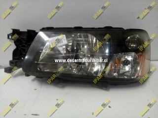 Optico Izquierdo Fondo Negro Con Salmon Naranjo Subaru Forester 2003 2004 2005 2006
